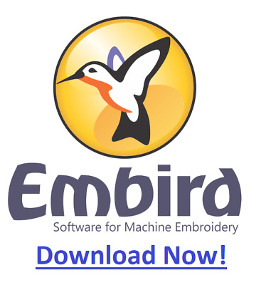 2015 Embird Embroidery Software - full version - Download only!