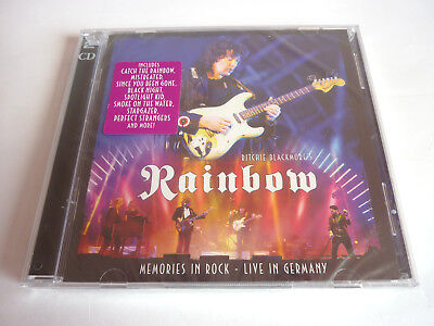 Ritchie Blackmore's Rainbow – Memories in Rock Live in Germany 2CD OVP