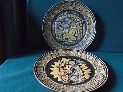 Two Denby Egyptian Collection  No1 & 11