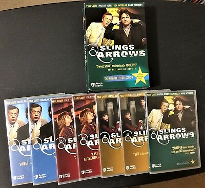 Slings & Arrows The Complete Collection Acorn 7 DVDs