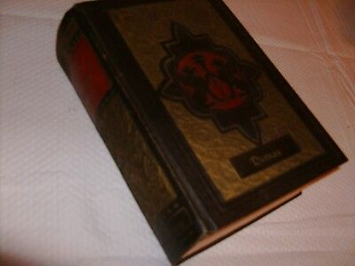 Rare Antique 1927 Alexandre Dumas 10 Volumes In One 1003 Page Book Stories 91 yr