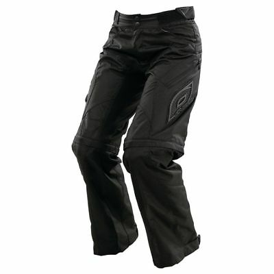 Oneal WOMENS Apocalypse freeride FMX pants sz 7/8 black, turns into shorts