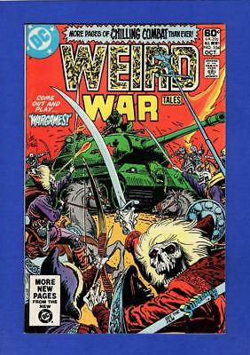 Weird War Tales #104 Vf/nm 9.0 High Grade Bronze Age Dc