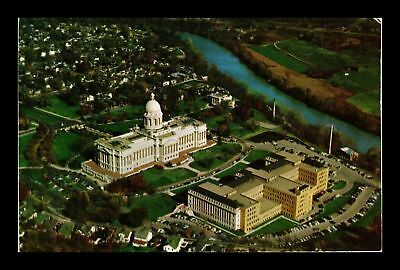 Dr Jim Stamps Us Kentucky State Capitol Aerial View Frankfort Postcard