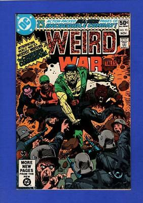 Weird War Tales #93 Vf/nm 9.0/9.2 High Grade Bronze Age Dc