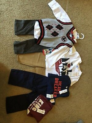 Lot Of Baby Gap Outifits; Size 12-18 Months; Baby Toddler Boy Clothes