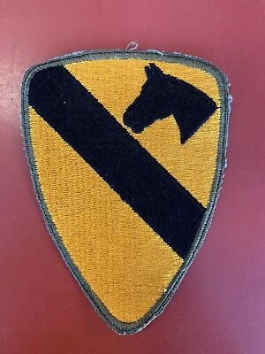 Ww2 Us Army 1St Cavalry Division Patch