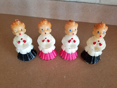 Lot Of 4 Vintage Gurley Choirboy Candles