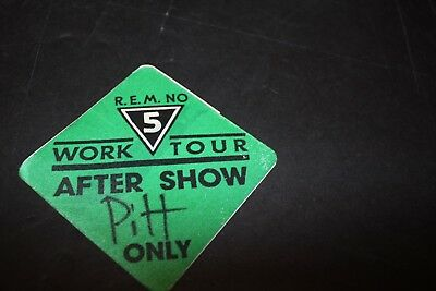 R.E.M. Used Working Pass Pittsburgh PA VG