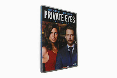 Private Eyes - Season 01 (DVD, 2018, 3 - Disc Set) NEW Send free