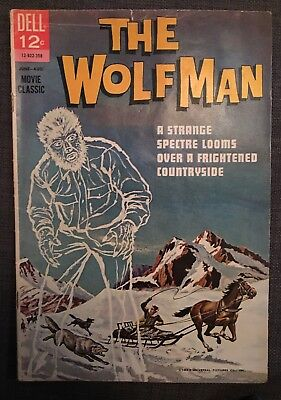 Vintage Comic THE WOLFMAN (1963) Dell Publishing Universal Monsters werewolf