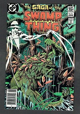 Saga of the Swamp Thing #14 DC Comics 1983 VF/NM RARE .75 Canadian Price Variant