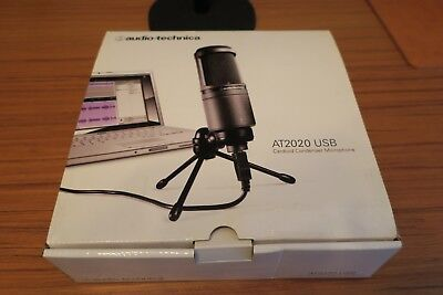 Audio Tech AT2020 USB Condenser Wired Professional Microphone w/stand
