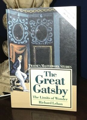 The Great Gatsby by F. Scott Fitzgerald (1990, Paperback, Reprint)