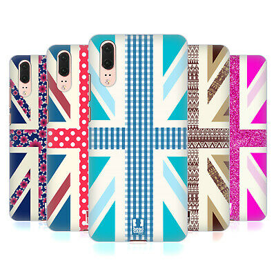 Head Case Designs Union Jack Collection Hard Back Case For Huawei Phones 1