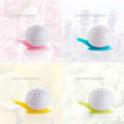 Car Air Freshener Perfume Solid Air Freshener Snail Shaped Suction Cup UK -ME95