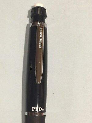 Papermate PhD Pencil .5mm Black and Chrome Finished New (Extremely Rare!)