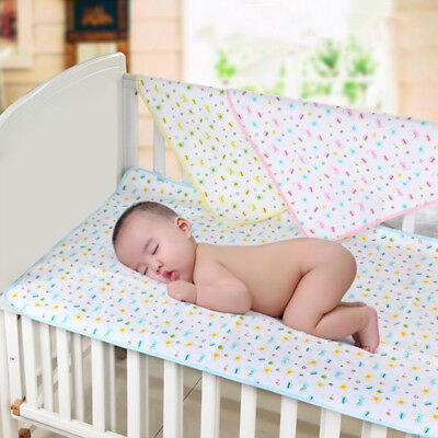 Waterproof Baby Washable Diaper Pad Use Mattress Protector Bed Pad Baby Sheet