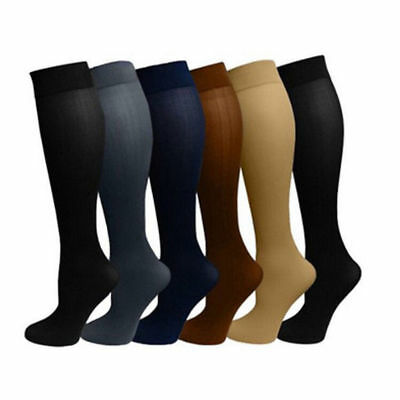 Varicose Vein Stocking Elastic Knee Leg Support Compression Socks Running Sports