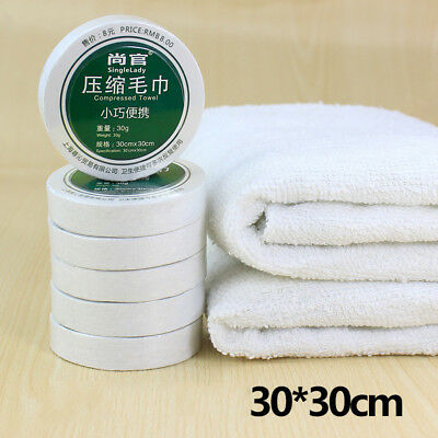 New Disposable Magic Compressed Bath Face Travel Cotton Towel Washing Hotel Use