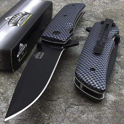 "8"" MASTER USA SPRING ASSISTED TACTICAL FOLDING POCKET KNIFE Blade Open Assist"
