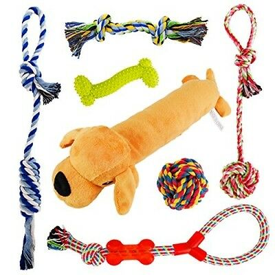 Dog Toys Rope for Small amp Medium Dogs(7 Pack Set)- Chew Toys - 1