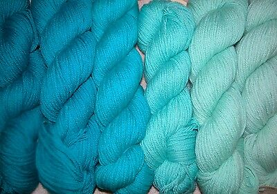 Caribbean Blue Family ~ New Paternayan Wool 3ply Persian Yarn Needlepoint Crewel
