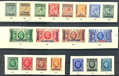 English Colony -Morocco Agencies 19 St. ( Centimos ) --* Mh -Most Vf