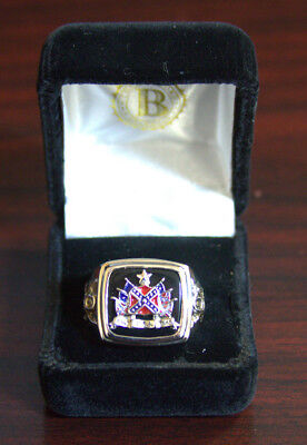 The Bradford Exchange Pride Of The South Civil War Commemorative Ring