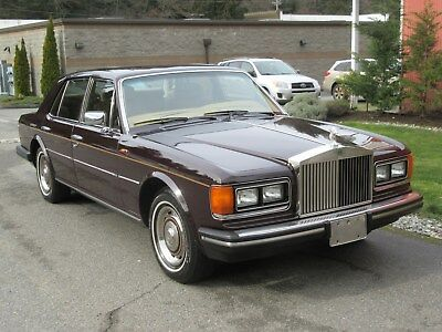 1981 Rolls-Royce Silver Spirit/Spur/Dawn Mulsanne 4 door 1981 Rolls-Royce Silver Spirit Mulsanne LOADED  V8