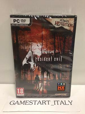 Resident Evil 4 Ultimate Hd Edition - Biohazard - (Pc) Nuovo New Versione Ita