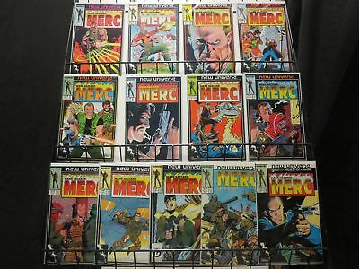 MERC (MARK HAZZARD) 1-12, ANN 1 PETER DAVID complete!