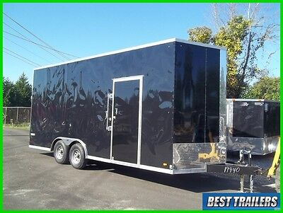 2018 Look 8 x 20 extra height New tall carhauler enclosed trailer stacker 8x20