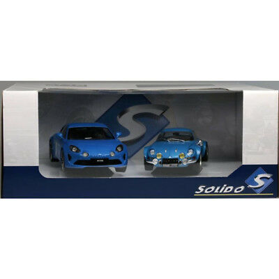 Pack Alpine 2017 & Alpine 1800S 1973 1/18 - PACK-S180001 SOLIDO