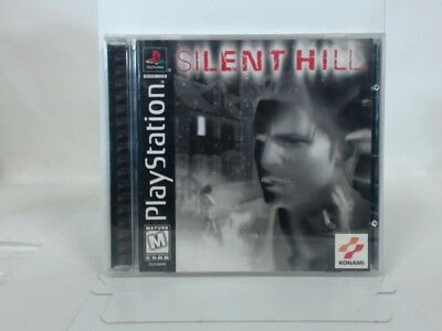 Silent Hill Playstation Ps1 Complete In Box W/ Manual Cib Very Good