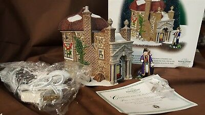 Dept 56 Dickens Village Series Lighted 2002 LTD ED HOP CASTLE FOLLY 2 Pc 58633