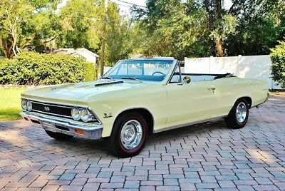 1966 Chevrolet Chevelle SS Convertible, 396 V8, Power Steering, Brakes, & 1966 Chevy Chevelle SS 396, Automatic, Power Steering, Power Brakes, Power Top