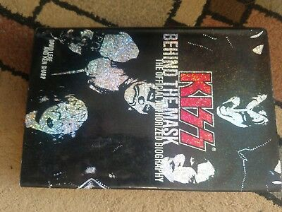 Vintage Book - Kiss Behind the Mask -2003 1st Printing,Authorized Biography