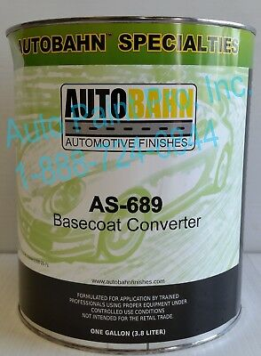 As-689 Autobahn Basecoat Convertor For Auto Basecoat Paint Car Supplies