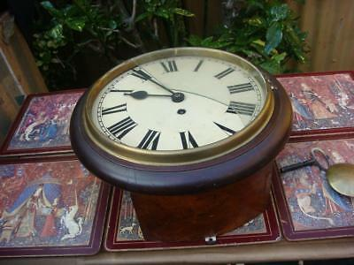 Vintage  W & H Clock Movement Come Inside Case  Restoration or  Spare / repair