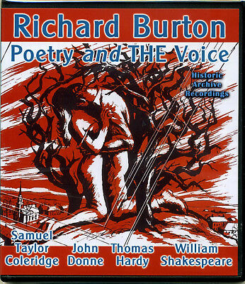 Richard Burton - Poetry and THE Voice CD Hardy Donne Rime of the Ancient Mariner