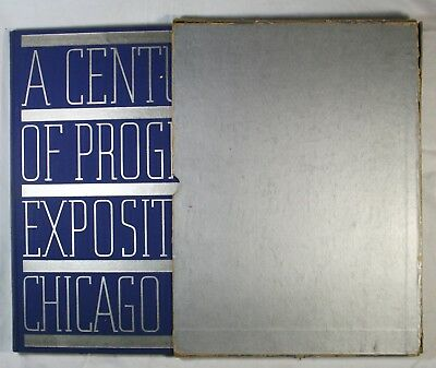 A Century of Progress Exposition Chicago 1933 Official Pictures of Fair Hardback