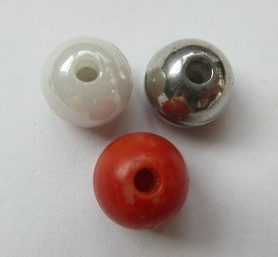 Fabulous Lot of 3 Old Antique~ Vtg China Whistle BUTTONS Iridescent++ (CD)