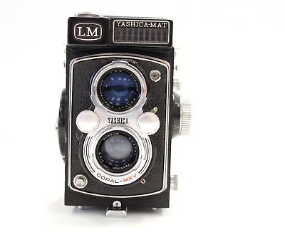 YASHICA-MAT LM TLR Camera with Yashinon 80mm Lenses - N49