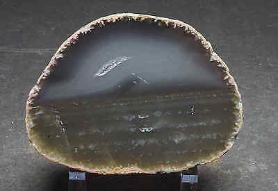 Agate Slab 7.4 Oz Thick Polished Front and Back Natural Edges 09267