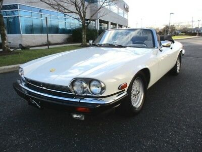 1991 XJS Classic Collection 1991 Jaguar XJS V12 Classic Collection Convertible Low Miles White Stuinning Car