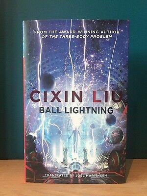 BALL LIGHTNING by Cixin Liu SIGNED LIMITED ED UK 1st/1st HB + No Reserve