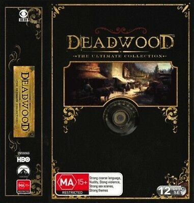 Deadwood: The Ultimate Collection = NEW DVD R4