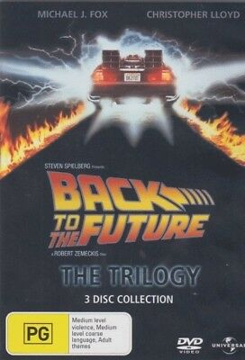 Back to the Future Trilogy = NEW DVD R4