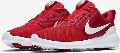 Men s Nike Roshe G University Red Golf Shoes -Size 7.5 -AA1837 600  New 1143013d8